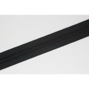 Fita fechos nylon 6mm cor 101 Preto