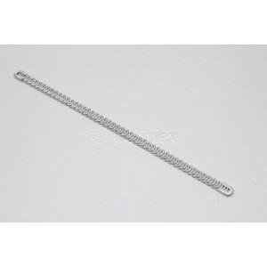 Espiral p/corpete em metal 200mmX7.5mm CS