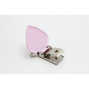 Mola suspensorio/chupetas 20mm corações rosa