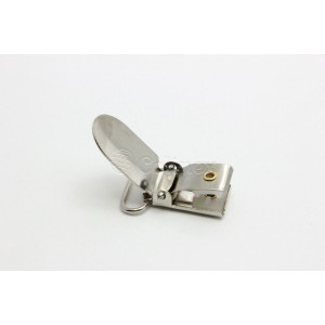 Mola suspensorio/chupetas 20mm retangulares niquelados