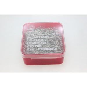 Alfinetes aço inox Nº8 tam.34 (cx.250gr.) 3250