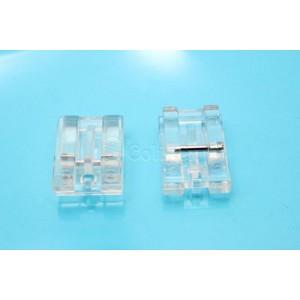 Base Calcador Fechos Invisiveis Maq. Domestica - 601 Plastica