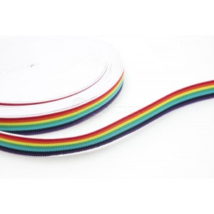 Elastico 25mm multicolor 25mm