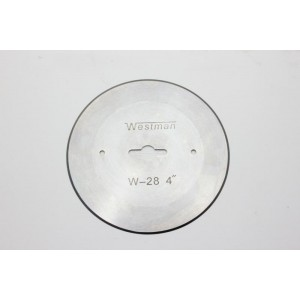 """Lamina circular LR4-1/4"""" (SUE LEE)"""