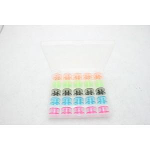 Canela Maq. Domestica Plastica Cx.25 Coloridas