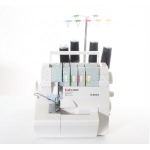 Maquina corte cose domestica 4 fios Kaixuan KX 854